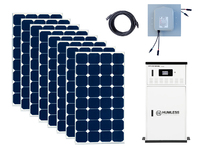 Earthtech Products 12 kWh Solar Generator Kit with 2,640 Watt of Solar for Homes and Off-Grid