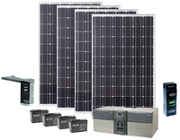 Earthtech Products Max 4800 Watt Hour Solar Generator with 1060 Watts of Solar for Home and Off-Grid Back Up Power