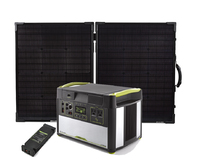 Goal Zero Yeti 1400 Lithium Portable Solar Generator Kit with MPPT & Boulder 100 Briefcase - V2 with Wi-fi
