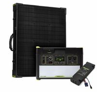 Goal Zero Yeti 1000 Lithium Portable Solar Generator Kit with MPPT and Boulder 100 Briefcase Solar Panel