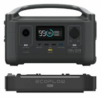 EcoFlow River 600 Max Portable Power Station and Expansion Battery Bundle