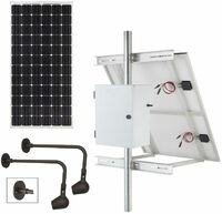 Commercial Solar Billboard Lighting Kit