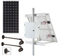 Commercial Solar Sign Lighting Kit - Surface Mount