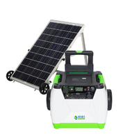 Natures Generator Portable 1800-Watt Solar Generator - Gold Kit