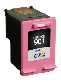HP CC656AN #901 Compatible Inkjet Cartridge (360 page yield) - Color