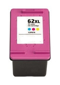 HP C2P07AN #62XL Compatible Inkjet Cartridge (415 page yield) - Color