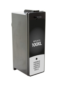 Lexmark 14N1068 #100XL Compatible Inkjet Cartridge (510 page yield) - Black