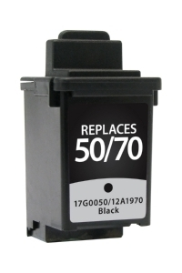 Lexmark 17G0050 #50 Compatible Inkjet Cartridge (600 page yield) - Black