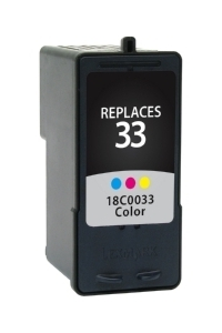 Lexmark 18C0042 #33 Compatible Inkjet Cartridge (190 page yield) - Color