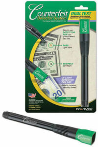 Smart Money Counterfeit Dual Detector (Pen and UV Light)