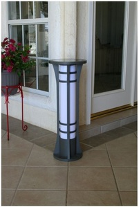 Premium Column Solar Bollard Light