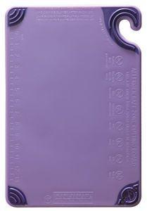 Allergen Saf-T-Zone Cutting Board w/Saf-T-Grip - Purple
