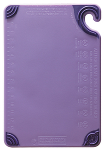 Allergen Saf-T-Zone Cutting Board w/Saf-T-Grip - Purple