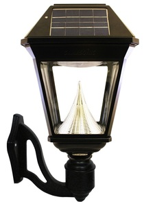 Imperial II Solar Lantern - Wall Mounted