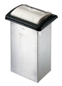 Venue In-Counter Napkin Dispenser - Fullfold - Clear/Black