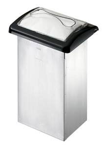 Venue In-Counter Napkin Dispenser - Interfold - Clear/Black