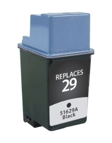 HP 51629A #29 Compatible Inkjet Cartridge (650 page yield) - Black