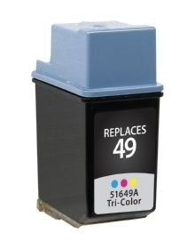 HP 51649A #49 Compatible Inkjet Cartridge (310 page yield) - Color