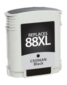 HP C9396AN #88XL Compatible Inkjet Cartridge (2400 page yield) - Black