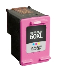 HP CC644WN #60XL Compatible Inkjet Cartridge (330 page yield) - Color