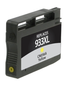 HP CN056AN #933XL Compatible Inkjet Cartridge (825 page yield) - Yellow