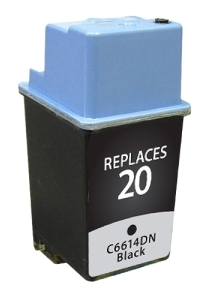 HP C6614D #20 Compatible Inkjet Cartridge (450 page yield) - Black