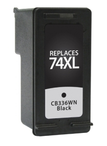 HP CB336WN #74XL Compatible Inkjet Cartridge (700 page yield) - Black