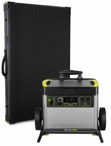 Goal Zero Yeti 3000X Lithium Lightweight Solar Generator Kit