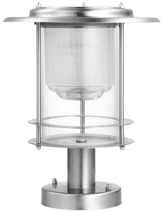 Stainless Steel Pro Design Solar Post Light