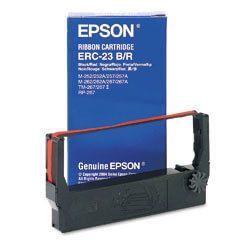 OEM Epson ERC 23 Printer Ribbons (1 per box) - Black