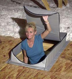 Attic Tent - Attic Stairway Insulation