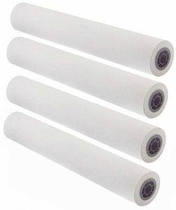 "36"" x 150' - 16# Inkjet / Monochrome Vellum Paper, 2"" Core (4 rolls/carton) - 93 Bright"