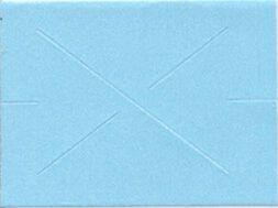 Garvey GX2212 Pricing Labels (1 Sleeve = 9 rolls @ 1,225 labels/sleeve = 11,025 labels) - Blue - Blank