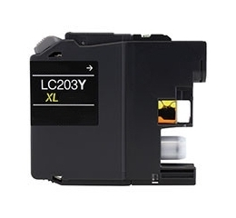 Brother LC203Y Compatible Inkjet Cartridge (550 page yield) - Yellow