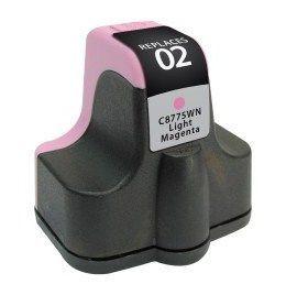 HP C8775WN #02 Compatible Inkjet Cartridge (240 page yield) - Light Magenta