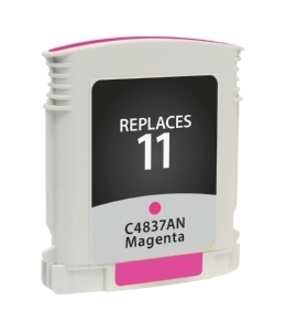 HP C4837A #11 Compatible Inkjet Cartridge (1800 page yield) - Magenta