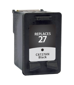 HP C8727AN #27 Compatible Inkjet Cartridge (220 page yield) - Black