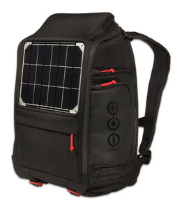 OffGrid Solar Backpack for Charging Laptops, Smart Phones, and other Small Electronics