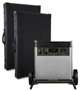 Goal Zero Yeti 6000X Solar Generator Kit with (2) Boulder 200 Briefcase Solar Panels