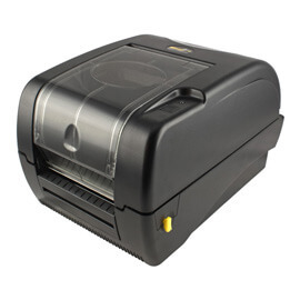"Wasp WPL305 DT/TT Desktop Label Printer with Cutter, 5"" OD, 5 ips"