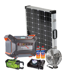 Earthtech Products 1200 Lightweight Solar Generator Emergency Survival Kit