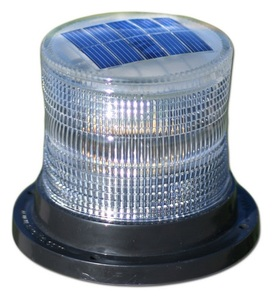 Solar Marine Light for Pilings, Docks, Buoys, Oil Booms and Cranes - Constant or Flashing Light