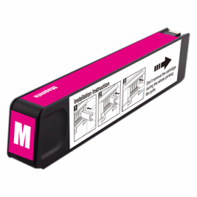 HP CN627AM #971XL Compatible Inkjet Cartridge (6600 page yield) - Magenta