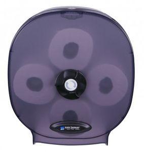 4 Station Bath Tissue Dispenser Carousel - Black Pearl