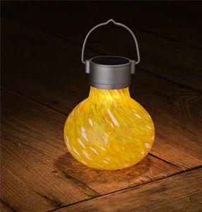 Solar Tea Lantern - Saffron