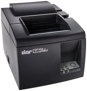 Star Micronics TSP113u Gry, Thermal Printer, Tear Bar, USB, Gry, Power Supply Included