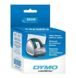 "Dymo .75"" X 2"" White Return Address Label 500"