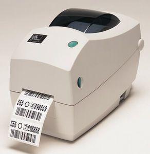 Zebra TLP2824 Plus Desktop Label Printer with USB, 10/100 Ethernet, Cutter, Extended Memory, Real Time Clock