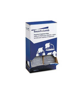 Antibacterial Office Equipment Wet Wipes Cloth 5 x 8 100/Box