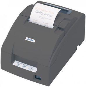 Epson TM-U220D - Impact/Receipt Printer, Ethernet (E03), Dark Gray, No Autocutter, Power Supply Included